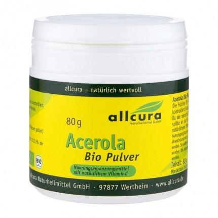 3 x allcura Acerola Bio, Pulver