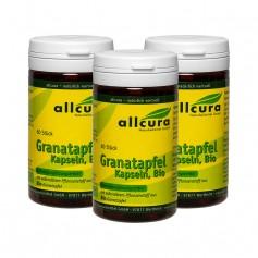 3 x allcura Granatapfel 300 mg, Kapseln