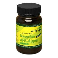 Blaugrüne AFA-Algen, Tabletten