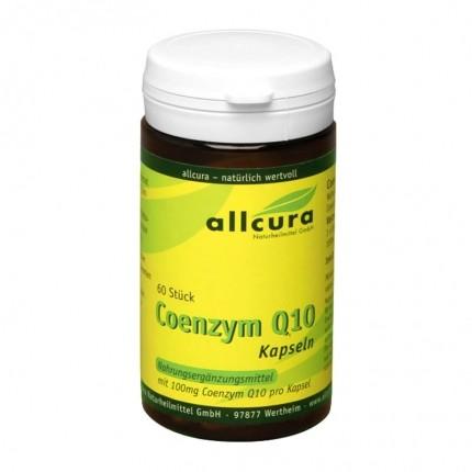 allcura Coenzym Q 10, Kapseln 100 mg