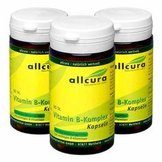 3 x allcura Vitamin B Komplex, Kapseln