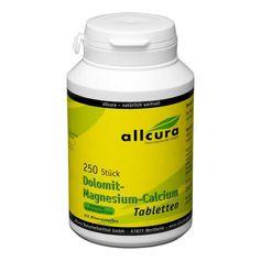 Dolomit Magnesium Kalcium, Tabletter