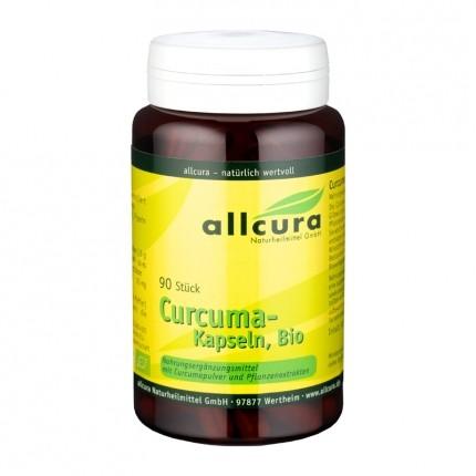 allcura Curcuma Bio, Kapseln