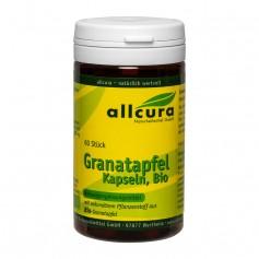 allcura Granatäpple, 300 mg, Kapslar