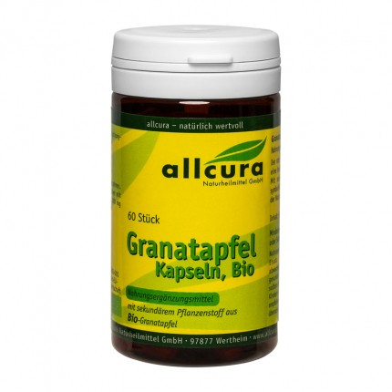 allcura gélules à la grenade, 300 mg