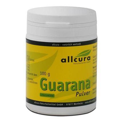 allcura guarana en poudre