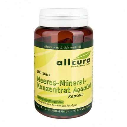 """allcura Meeres-Mineralkonzentrat """"AquaCal"""", Kapseln"""