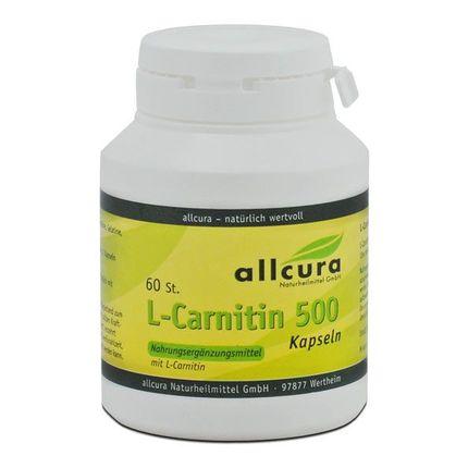allcura L-Carnitin 500 mg, Kapseln