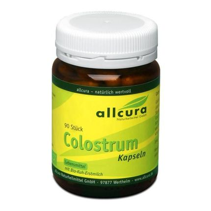 allcura Organic Colostrum Capsules