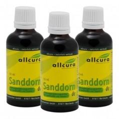 3 x allcura Sanddornöl