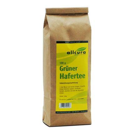 allcura thé d'avoine vert