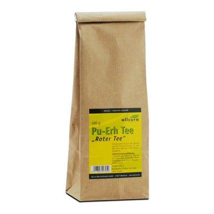 thé rouge Pu Erh d'allcura, 3x100 g