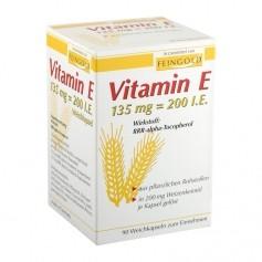 allcura Vitamin E Kapseln mit Weizenkeimöl