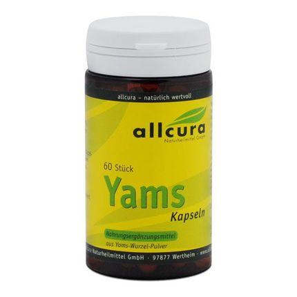 allcura Yams Capsules
