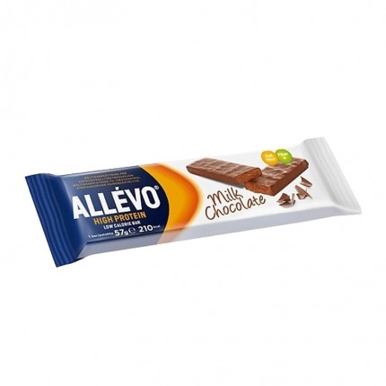 Allévo High Protein Low Calorie Bar, Choklad