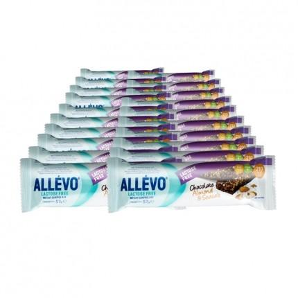 Allévo Lactose Free Weight Control Bar, Mandel-Choklad