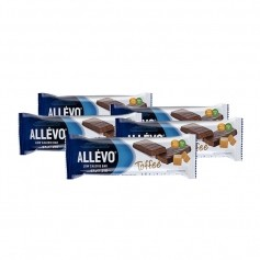 5 x Allévo Low Calorie Bar, karamell