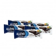 5 x Allévo Low Calorie Bar, mørk sjokolade