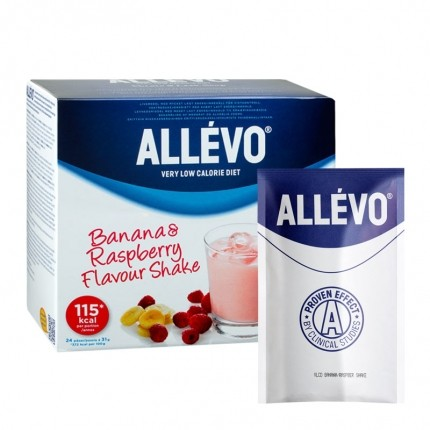 Allévo KS Big Pack VLCD Hallon/Banan