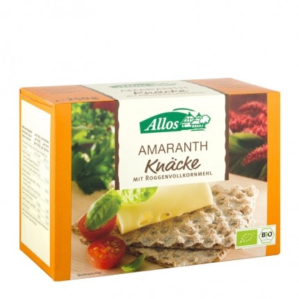 Allos Amaranth Crispbread
