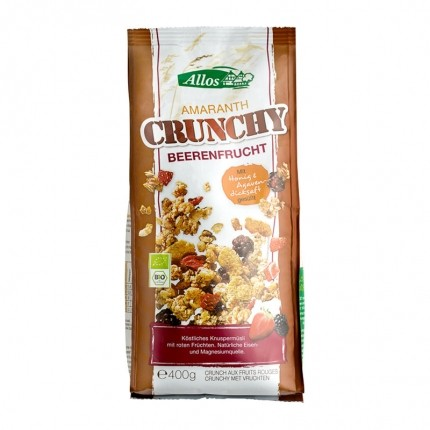 Allos Amaranth Crunchy Berry Fruit