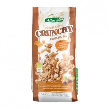 Bio Amaranth Crunchy, Nuss (400 g)