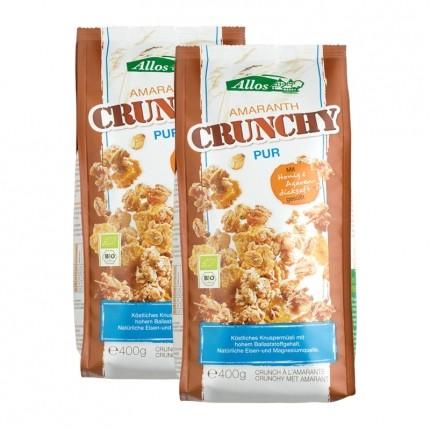 Bio Amaranth Crunchy Pur (2 x 400 g)
