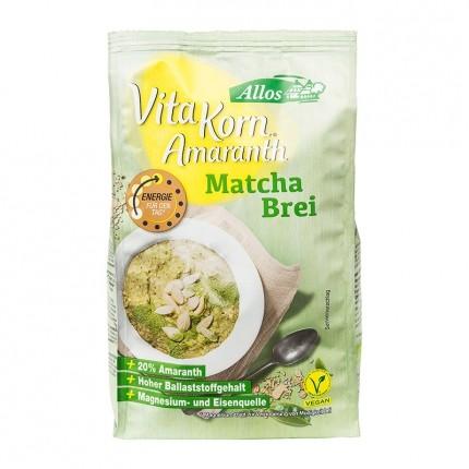 Bio Amaranth Frühstücksbrei, Matcha (400 g)