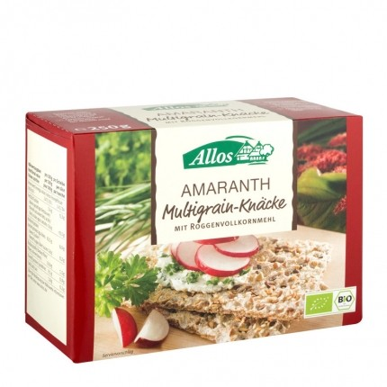 Bio Amaranth Multigrain-Knäcke (250 g)