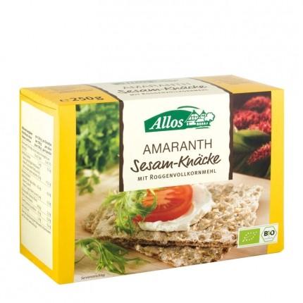 Bio Amaranth Sesam-Knäcke (250 g)