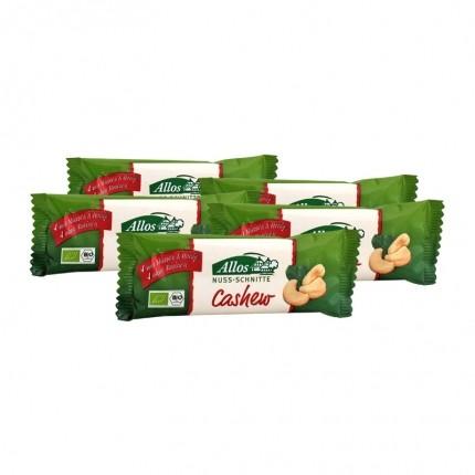 5 x Allos Nuss-Schnitte Cashew