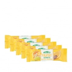 5 x Allos Fruchtschnitte Dattel-Orange