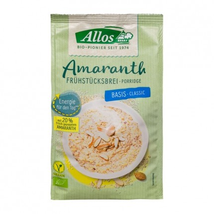 Allos Breakfast Porridge With Amaranth