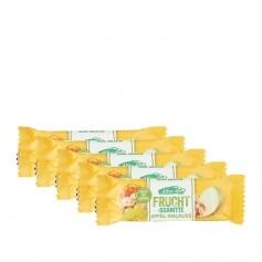 5 x Allos Fruchtschnitte Apfel-Walnuss