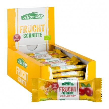 Allos Fruchtschnitte Cranberry Box