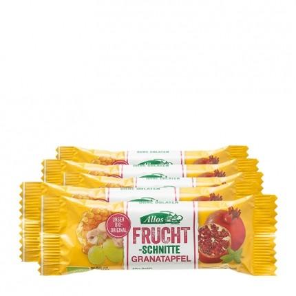 Allos Bio Fruchtschnitte, Granatapfel