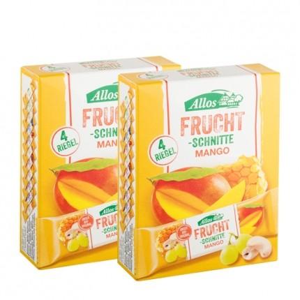 Allos Fruchtschnitte 4-er Mango Doppelpack