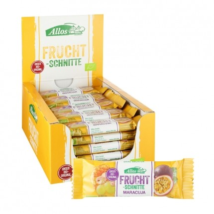 Allos Fruchtschnitte Maracuja Box