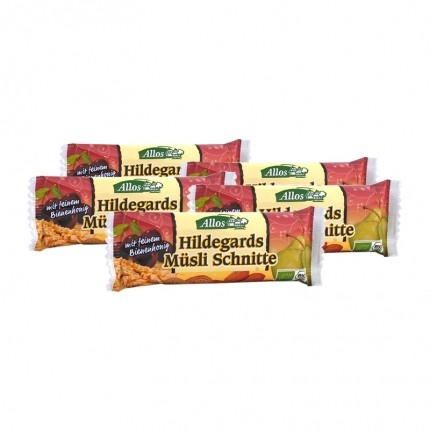 5 x Allos Hildegards Müsli Schnitte