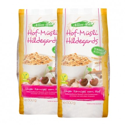 2 x Allos Hof-Müsli Hildegard