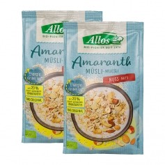 2 x Allos Amaranth-Edelnuss-Müsli