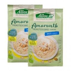 Allos Frühstücksbrei mit Amaranth Basis Doppelpack