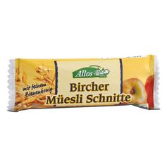 Allos Bircher Granola Bar