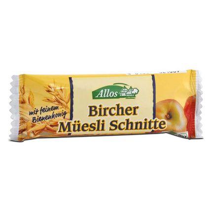 Allos Bircher Müesli Schnitte