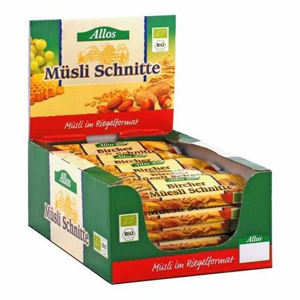 Allos Bircher Müesli Schnitte Box