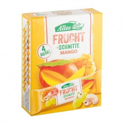 Allos Fruchtschnitte 4-er Mango