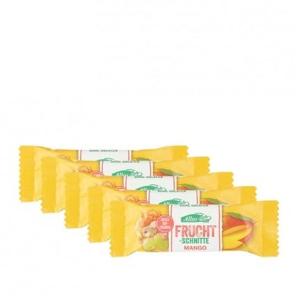 5 x Allos Fruchtschnitte Mango