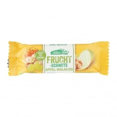 Allos Fruit Bar Apple-Walnut