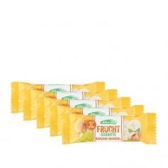 5 x Allos Fruchtschnitte Banane-Mandel