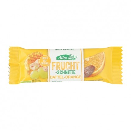 Allos Fruchtschnitte Dattel-Orange